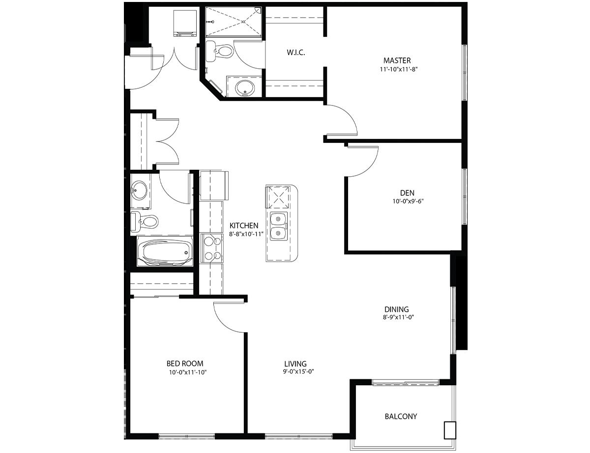 Floor Plan Suit C